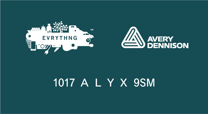 Alyx and Avery Dennison partnership