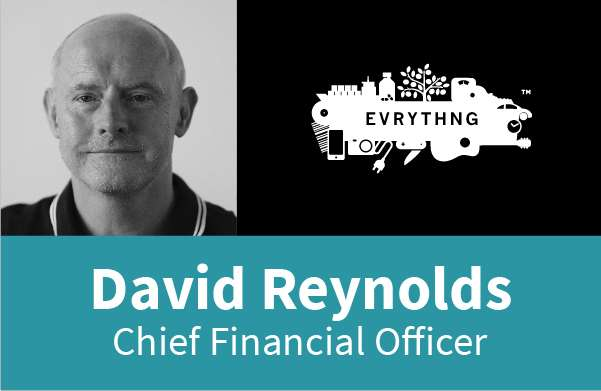 David Reynolds, EVRYTHNG Chief Financial Officer