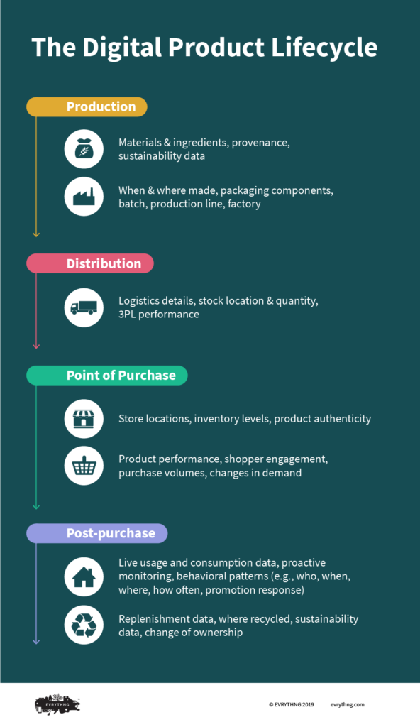 Digital Product Lifecycle Infographic
