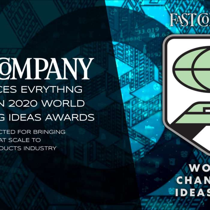 Fast Company Announces EVRYTHNG Winner In 2020 World Changing Ideas Awards