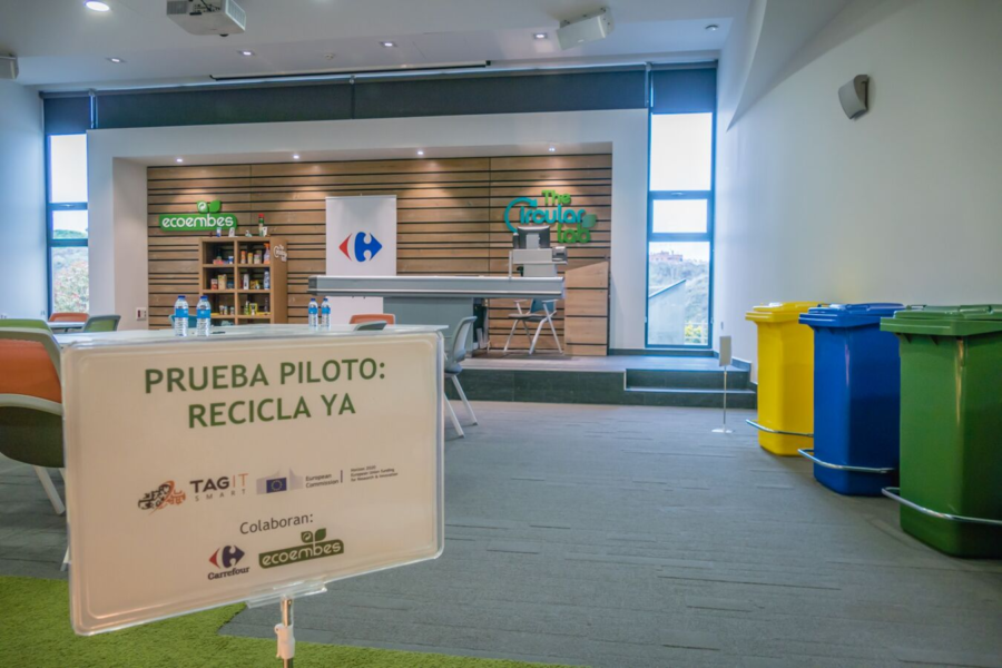 Carrefour Tests Smart Recycling Powered by EVRYTHNG